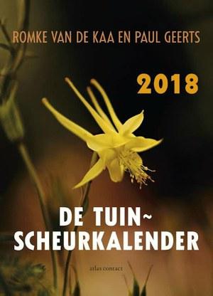 De Tuinscheurkalender 2018