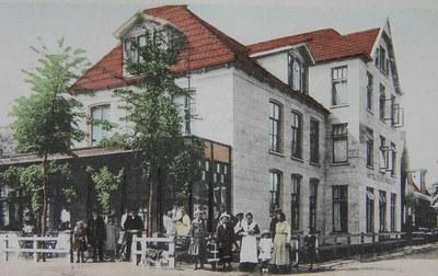 Hotel Van der Werff, oudtijds