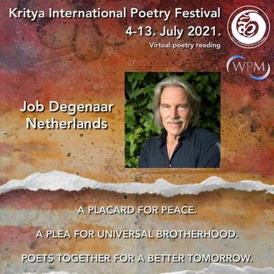 Kritya International Poetry Festival vrijdag start 14.30
