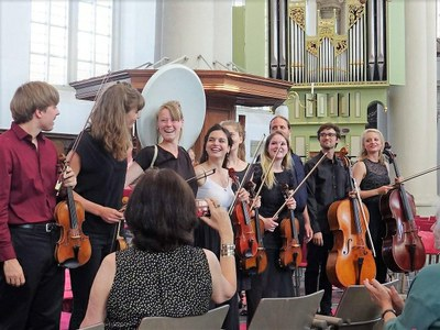 Nescio Ensemble 9 september in Lemmer