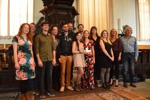 Indrukwekkend optreden van het Nescio Ensemble in Lemmer