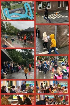 Sponsorloop basisschool De Ark, Espel voor PEN Emergency Fund