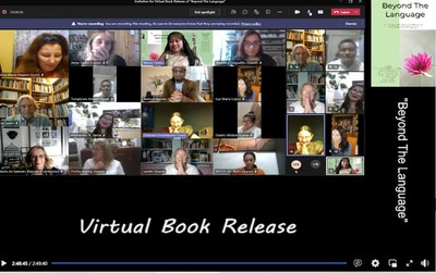 Virtual Book Release 'Beyond the language'